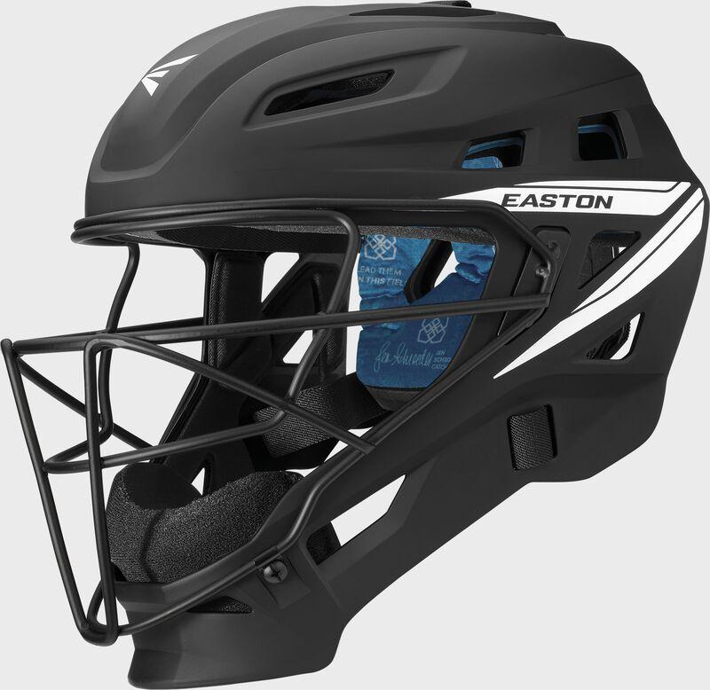 Jen Schro The Very Best Catcher's Helmet BK L