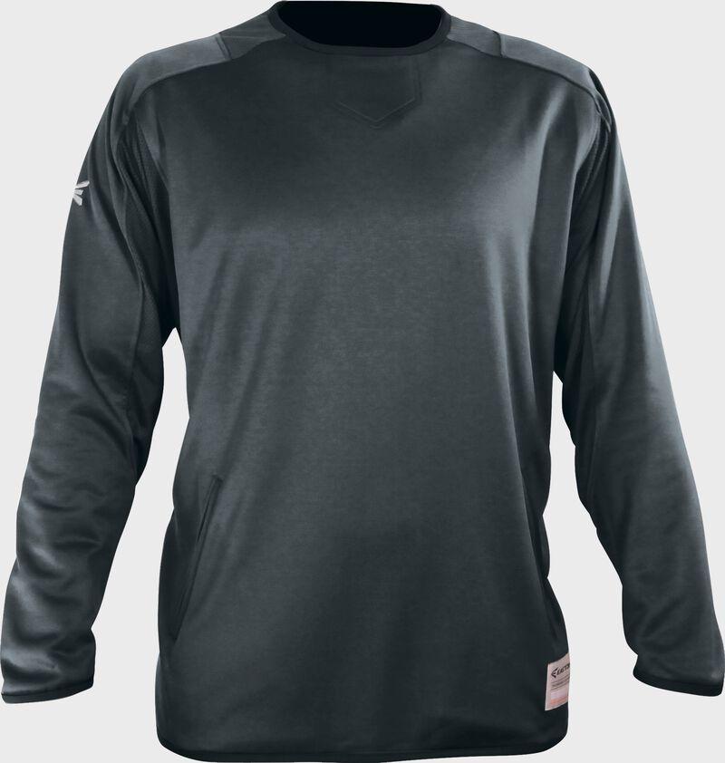 Easton Alpha Fleece Pullover Youth CHARCOAL  SMALL/MEDIUM