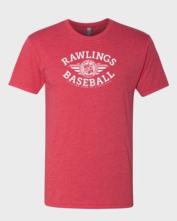 Rawlings Baseball Tri-Blend T-Shirt | Adult
