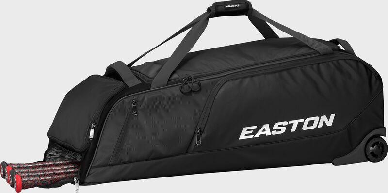 Dugout Wheeled Bag   BK