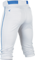 Rival+ Knicker Pant Adult Piped WHITE/NAVY XXL image number null