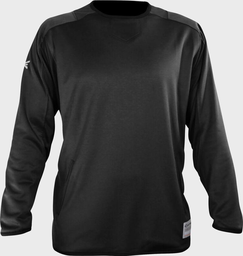 Easton Alpha Fleece Pullover Adult BLACK  XXXL