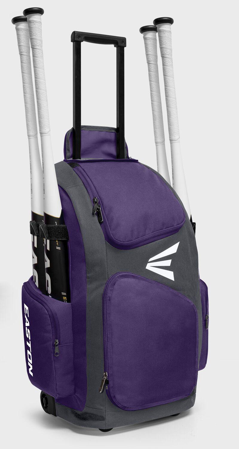 Traveler Stand-Up Wheeled Bag | PU