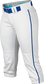 Easton Prowess Softball Pant Women's Piped WHITE/ROYAL  XXL image number null
