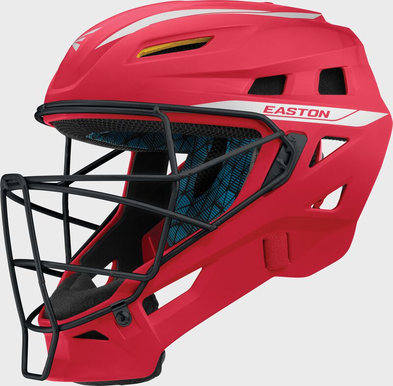 Pro X Catcher's Helmet RD/SL L