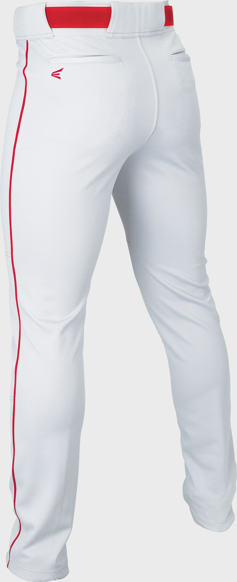 RIVAL+ PANT ADULT PIPED WHITE/RED M