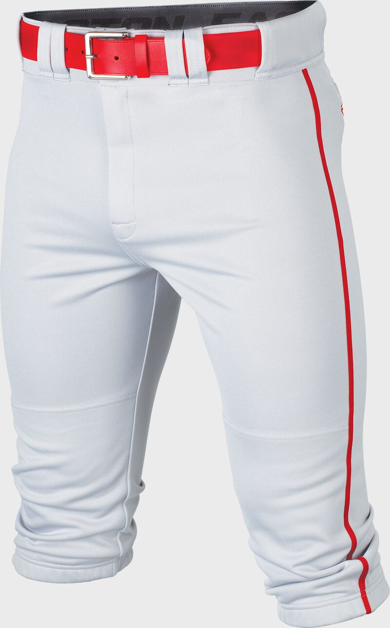 Rival+ Knicker Pant Youth Piped WHITE/RED L