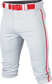 Rival+ Knicker Pant Youth Piped WHITE/RED L image number null